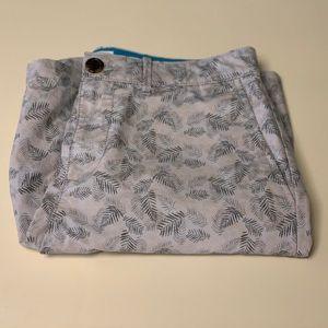 Original Penguin Men's Leaf Print Shorts Size 30